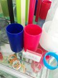 Aislante de tubo del polipropileno del color