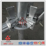 El andamio que apuntala de acero estándar de los E.E.U.U. Ringlock apoya el sistema para el concreto