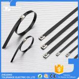 공장 공급 에폭시 PVC SS304 스테인레스 스틸 케이블 타이 코팅