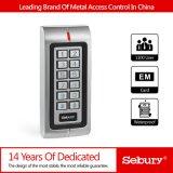 Control de acceso independiente de dos puertas impermeable del metal