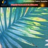 Polyester-Jacquardwebstuhl-elastisches Gewebe mit tropischem Muster für Beachwear/Hose (YH2136)
