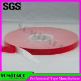 Cinta adhesiva de la espuma de acrílico transparente de alta densidad de la cinta Sh368-15 de Somi
