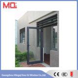 Porte d'entrée en aluminium imperméable à l'eau de tissu pour rideaux