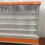 슈퍼마켓 조정가능한 선반 Multideck 전시 냉장고 진열장