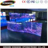 Mur polychrome professionnel de vidéo de la location DEL du modèle P3.91
