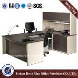 Bureau blanc simple d'ordinateur de meubles de bureau de conception avec l'étagère (HX-N0117)