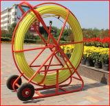 A fábrica fornece a serpente Rodder do baixo preço FRP/Fiberglass de 11mm*300m
