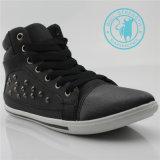 Chaussures de chaussures de toile de cheville de rivet d'unité centrale de chaussures d'hommes (SNC-011318)