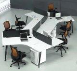 Melammina cinese L stazione di lavoro di figura (HX-NCD101) di Parition dell'ufficio