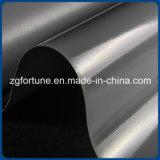 tela revestida impermeable gris del encerado del PVC 1000*1000d