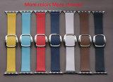 Original hebilla de correa de banda de cuero genuino hebilla para Apple Watch