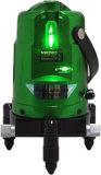 Лучи уровня 3 лазера зеленого цвета Danpon Self-Leveling с веском ставят точки Vh800