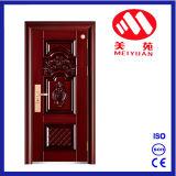 Puerta de acero de la seguridad de Turquía para el apartamento