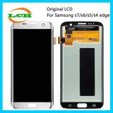 LCD y asamblea originales de pantalla táctil para Samsung S7/S6/S5/S4 LCD
