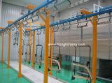 알루미늄 제품을%s 자동적인 분말 분사 코팅 선