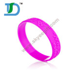Hot Salts Custom Debossed and Embossed Silicone Wristband