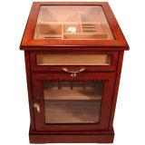 Humidificateur en bois de cigare - compte de l'appareil de bureau 150 - fini à haute brillance de piano (LW-JB03116)