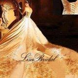 Robe de mariage de luxe nuptiale de broderie de robes de bille de Halter Htb10