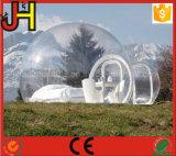 Tente transparente gonflable, tente gonflable claire pour camping