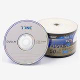 50PCS Shrinkwrap lo spazio in bianco DVD-R di buona qualità del pacchetto 16X