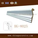 Alta calidad de la PU decoración de la pared de moldeo para el diseño casero simple