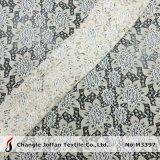 Tessuto di lavoro a maglia del merletto del cotone del filo di ordito per abito (M3397)