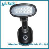 調節可能なランプヘッド12 LED ~のスタンドアップ式の電池式の机ライト