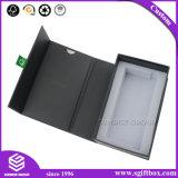 高品質の磁気閉鎖ボックスを包むカスタムCmykの印刷紙のギフト