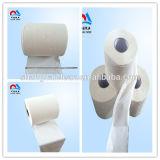 Tejido blanco directo del papel higiénico de la fábrica del papel higiénico de la higiene,