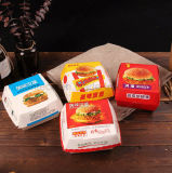 주문을 받아서 만들어진 Eco-Friendly 햄버거 또는 식품 포장 접히는 상자를 인쇄하는 풀 컬러