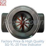 Type neuf de Tianhe prix d'indicateur d'écoulement d'eau avec le rotor en plastique