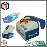 Abdomen superior de impresión en color cartón corrugado caja de papel de envío