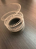 Faisceau de stator de moteur faisant à machine la ligne spiralée d'enroulement