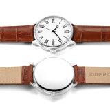 LuxuxModedesigner-Mann-Uhr-Edelstahl Quarzt Uhr mit Kurve Glass72874