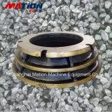 Manganèse élevé de qualité faite sur commande, partie en acier