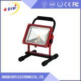 20W portátil recargable COB LED de luz de trabajo