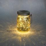 Luzes solares em mudança do frasco do Firefly da cor bonita para a remoção de ervas daninhas