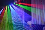 2 ~ 4W RGB Animación Cabeza móvil de luz láser
