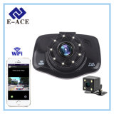 Mini coche lleno auto DVR del video HD WiFi de Dashcam con la visión nocturna