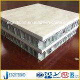 벽 클래딩을%s 알루미늄 벌집 인공적인 대리석 돌 위원회