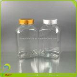 Бутылка ясности микстуры прямоугольника любимчика пластичная