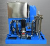 Pompe à haute pression d'essai de machine de nettoyage de nettoyeur d'échangeur de chaleur