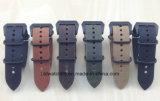 Qualitäts-NATO-Uhrenarmband-echtes Leder-Uhrenarmbänder