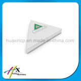 Cadre de empaquetage de triangle de bijou d'étalage de support fabriqué à la main fait sur commande de boucle