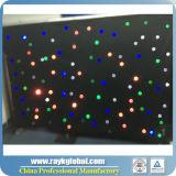 結婚式の背景幕LEDはLEDの星のカーテンをつける