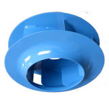 Roue centrifuge en acier en arrière, ventilateur, déflecteur, turbine (225mm)