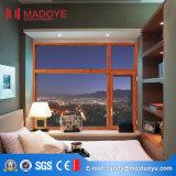 Finestra di vetro all'ingrosso del materiale da costruzione della Cina nuova con il disegno della griglia