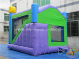 Monster-aufblasbares Schloss mit Plättchen, aufblasbares Springen kombiniert