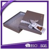 Decoradas caja del favor de la Plaza de papel dura de caramelo para la boda