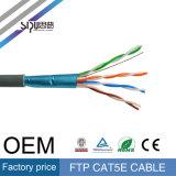 Câble LAN du câble Cat5 de réseau de ftp Cat5e de qualité de Sipu